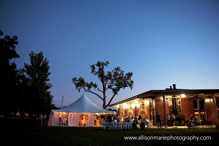 Jasper Winery Wedding Reception
