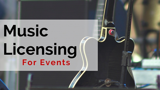 Music Licensing for Events