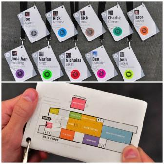 Creative Name Badges - InnovativEvents Corporate