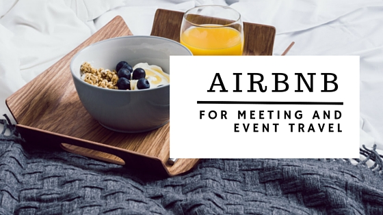 AirBNB for Meeting and Event Travel