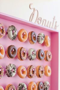 Donut Peg Board